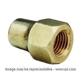 Brass Generic Fit Flare Nut Short 3 4 Ffl X 3 4 Od Ns412